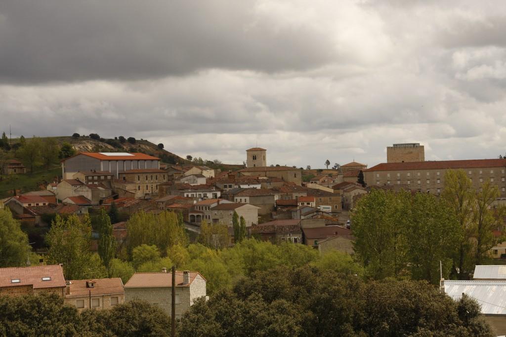 Vuelta a España 2021 View of Caleruega