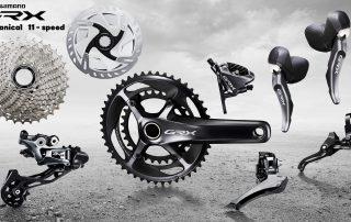 Shimano GRX - 1x11, 2x11, 2x10 Dedykowana Grupa do Rowerów Gravel