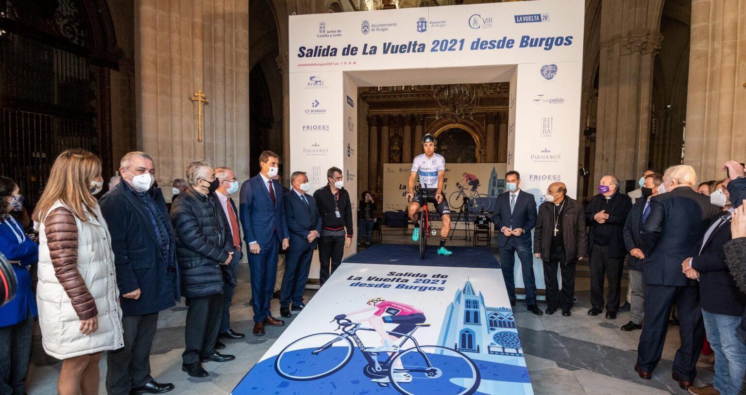 Vuelta a España 2021 wystartuje z katedry w Burgos